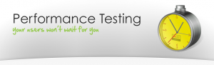 approach software performance testing