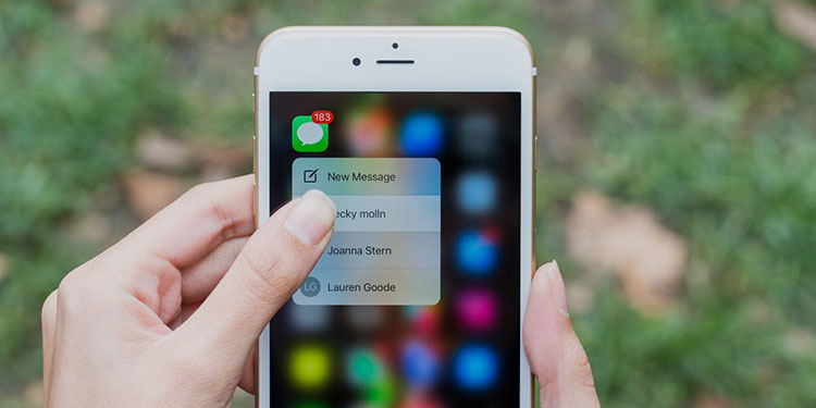 3D Touch Gesture