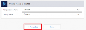 Add the SharePoint action