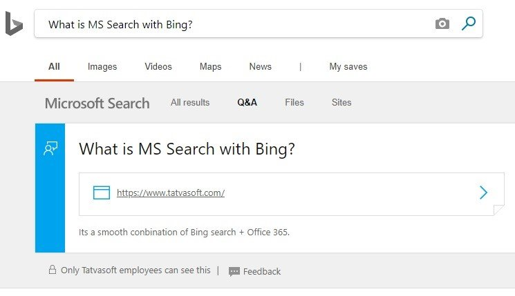 MS Bing Search