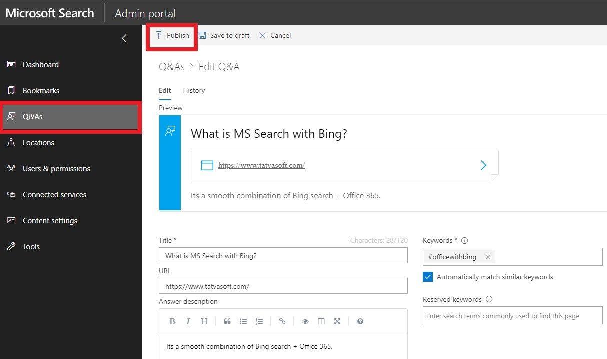 Microsoft Admin Panel