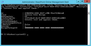 Sharepoint Online Management Shell