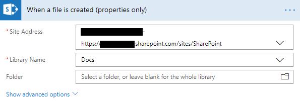 SharePoint trigger