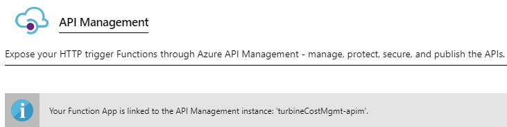 API Management instance