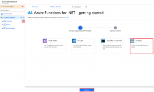 Azure Functions for .net