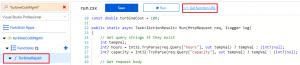 Get function URL