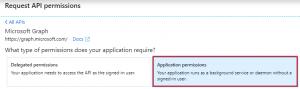 Application Permissions