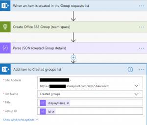 SharePoint - Create item
