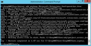Install below NuGet packages