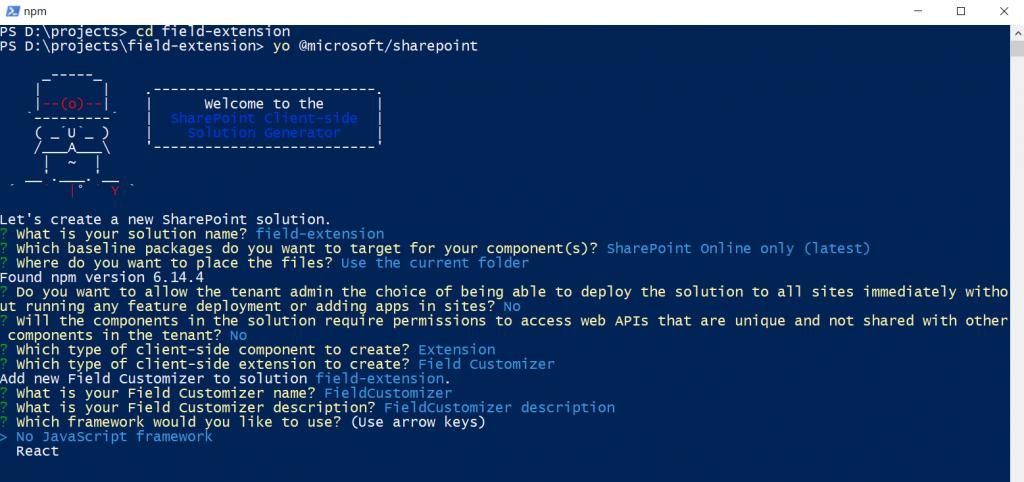 Command Set extension