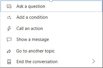 End the conversation