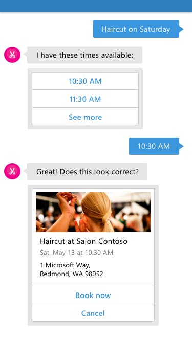 salon bot example