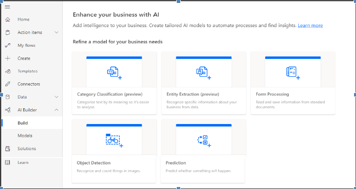 Enhance your business with AI
