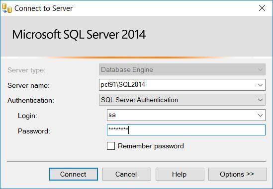 Provide Mirror server credentials