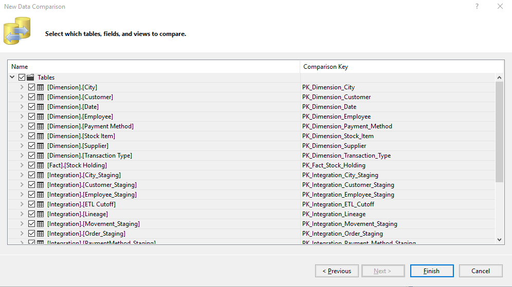 Table View Selection Options