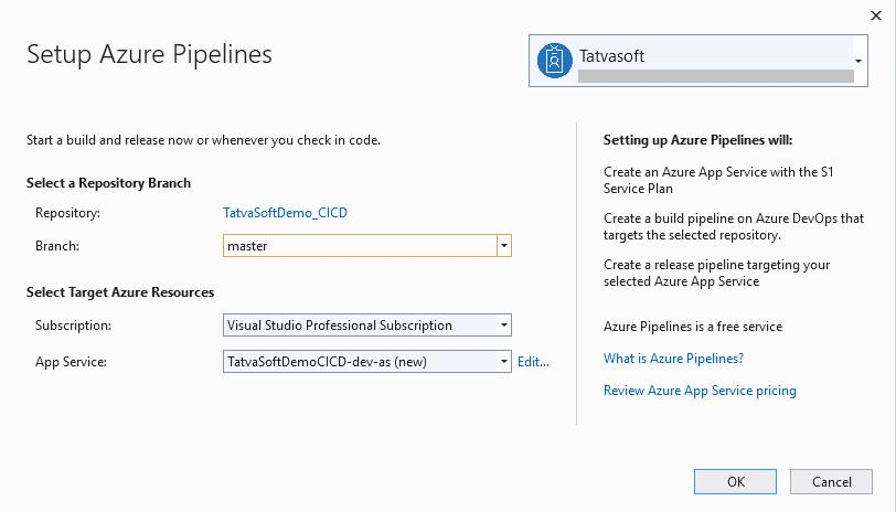 Setup Azure Pipeline