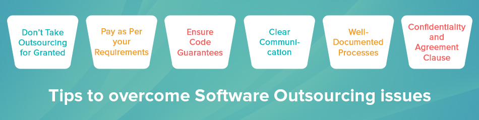 Tips to overcome Software Outsourcing issues