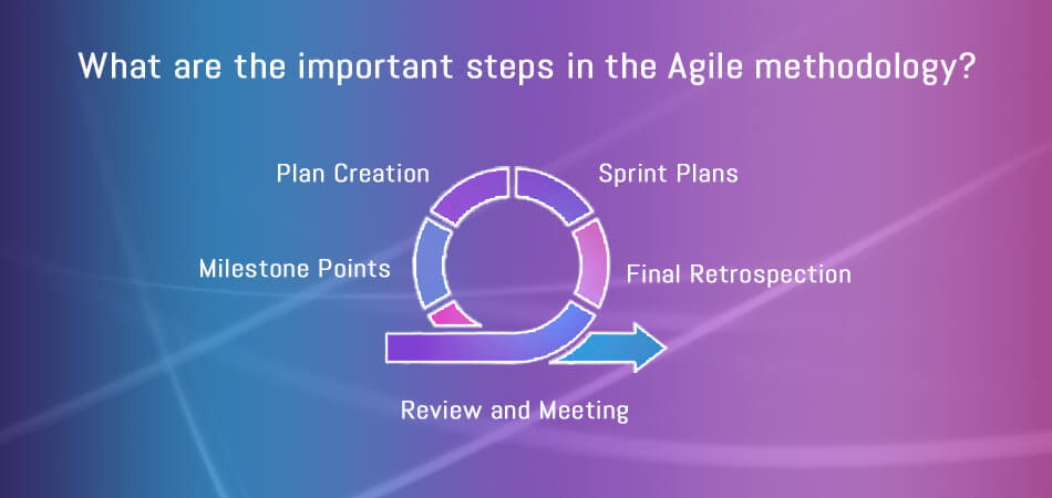 What are the important steps in the Agile methodology_