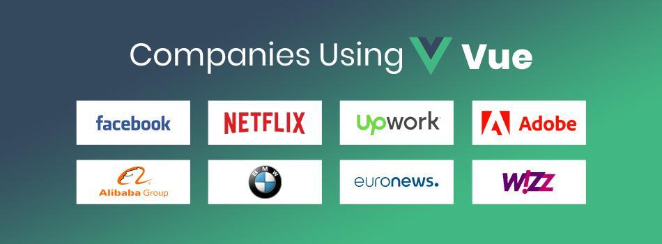 companies using vue