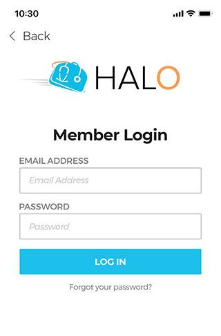 halo-login